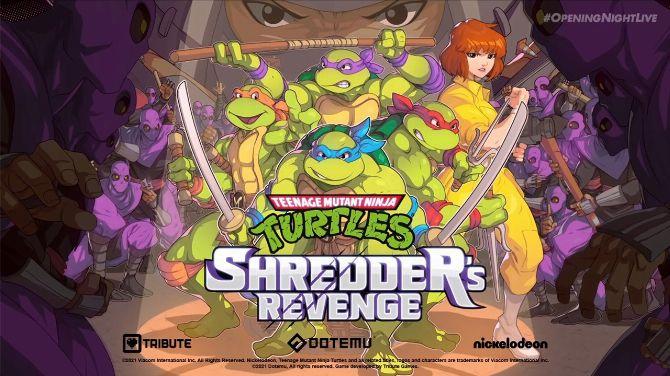 Gamescom 2021 : Teenage Mutant Ninja Turtles Shredder's Revenge présente son April jouable