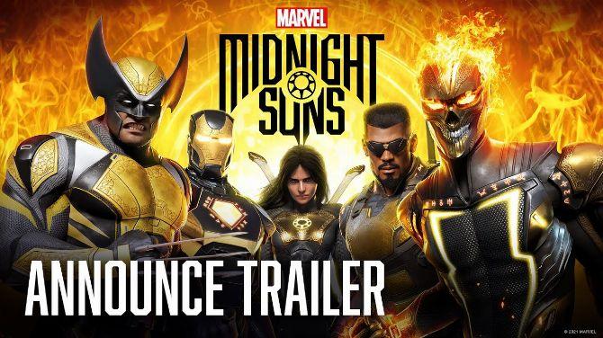 Gamescom 2021 : Marvel's Midnight Suns par les créateur de XCOM annoncé en vidéo