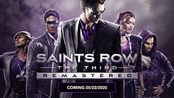 Epic Games Store : Saints Row The Third Remastered GRATUIT