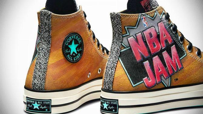 Converse annonce une collection de sneakers NBA Jam, les infos