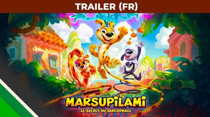 Marsupilami Le Secret du Sarcophage en 1ère vidéo, entre DK Country, Sonic et Rayman