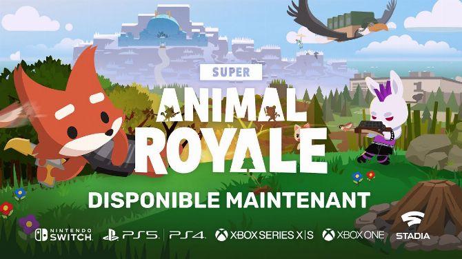 Super Animal Royale en vidéo, un battle royale étonnant ?