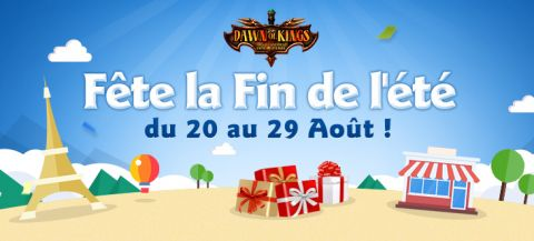 Dawn of kings obtenir coupons de gemmes