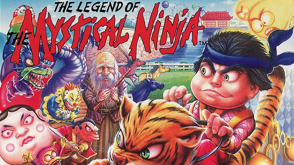 Goemon : le légendaire Ninja à la pipe mystique !