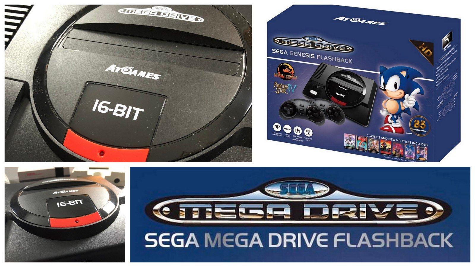 La Sega Mega Drive Mini HD au banc d'essai !
