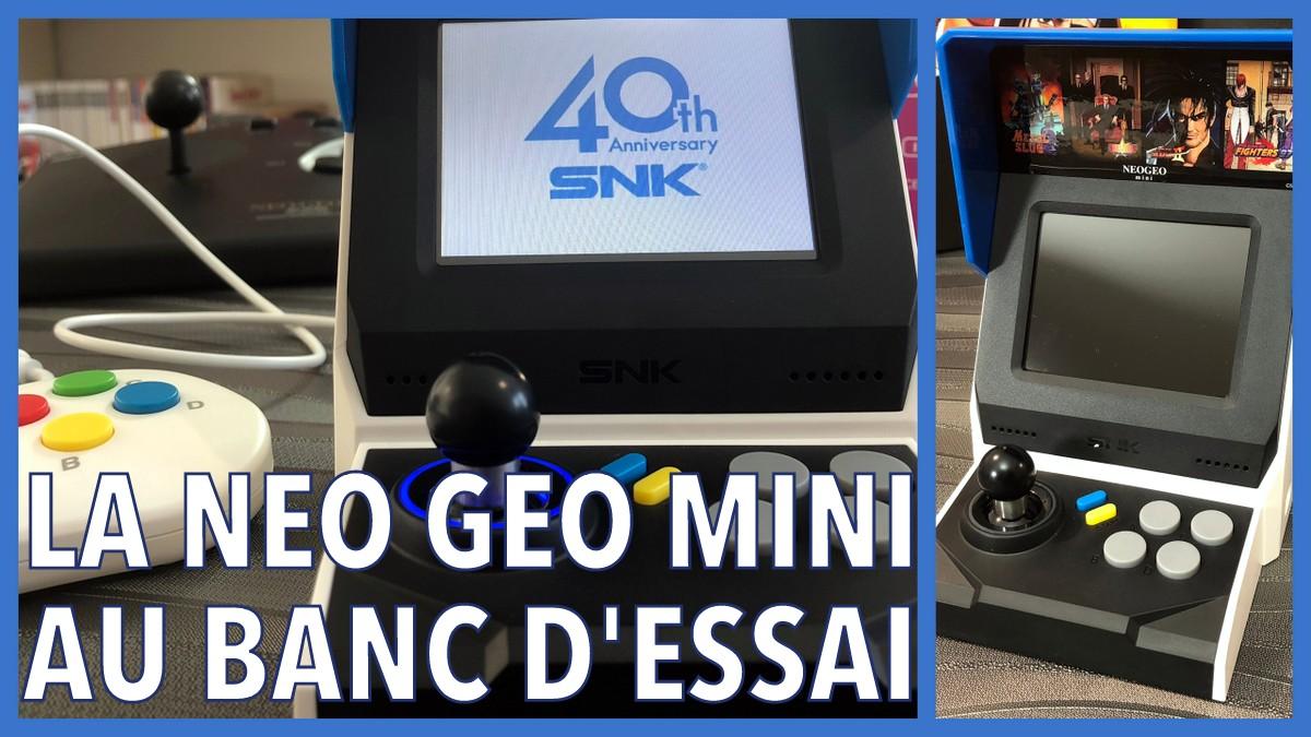 La Neo Geo en version internationale au banc d'essai !