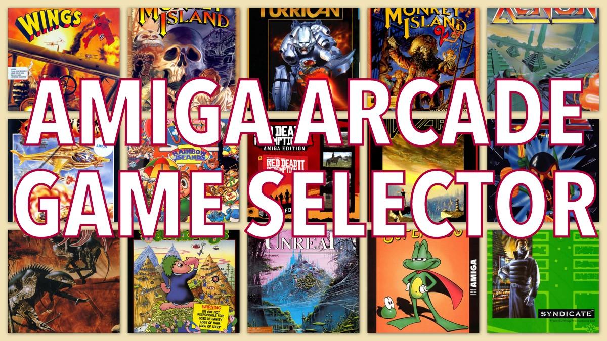 Arcade Game Selector pour Amiga