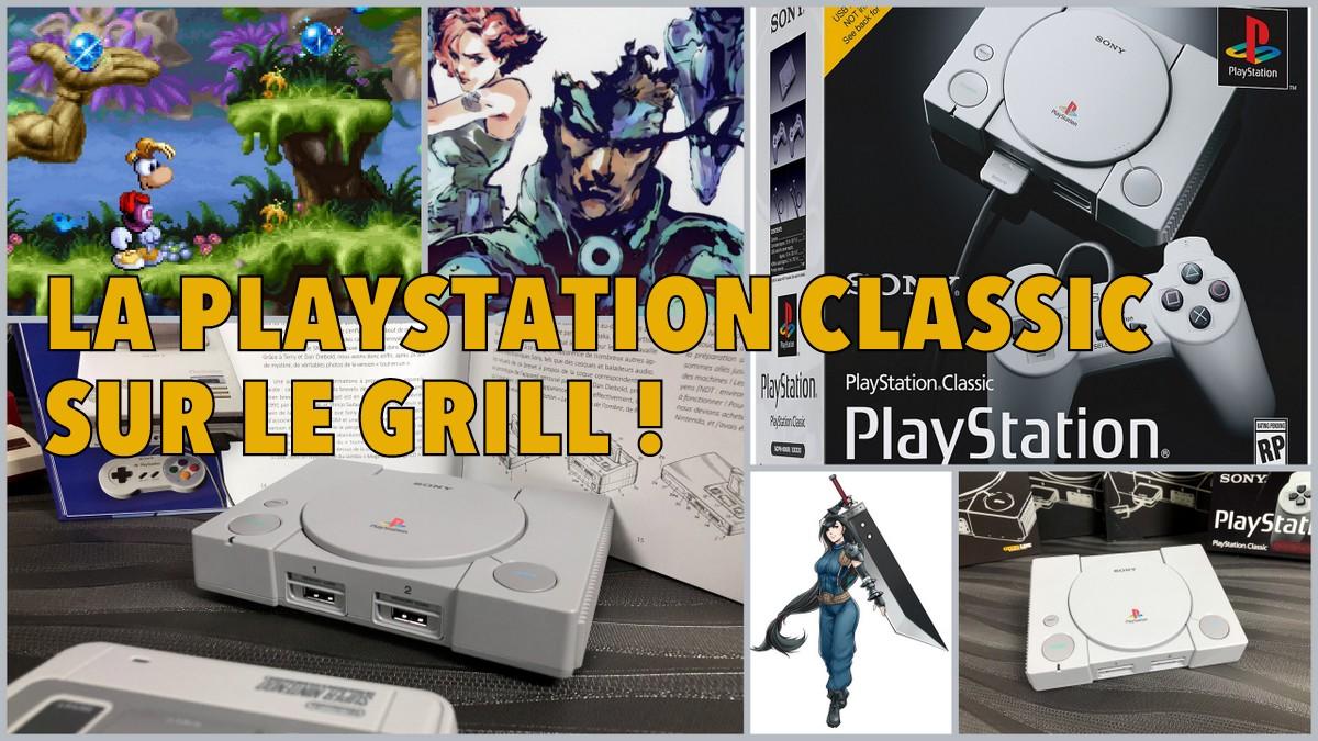 La PlayStation Classic au banc d'essai !