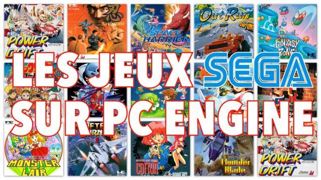 Les jeux SEGA sur PC Engine ! - Le Blog de Gunhed - Gameblog fr