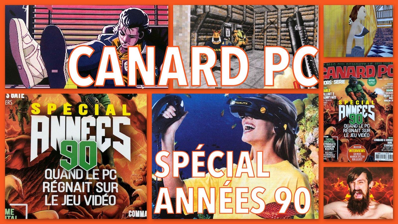 Canard PC Spécial Années 90