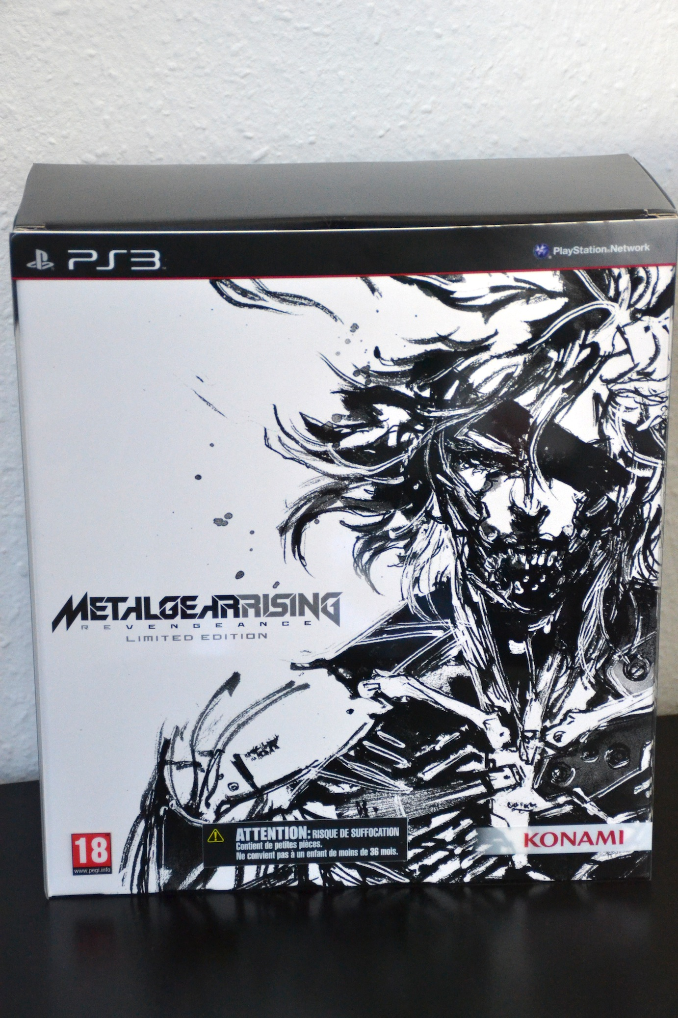 Surprise du jour : Metal gear rising revengeance collector