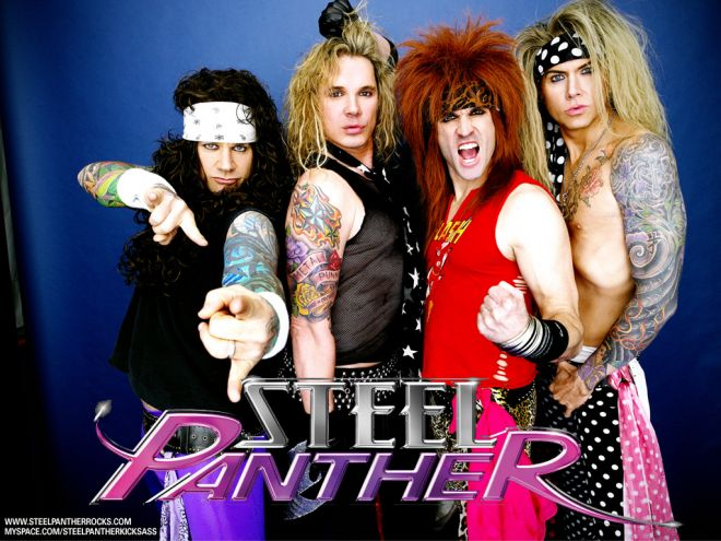 Phrase Steel panther balls out nice answer