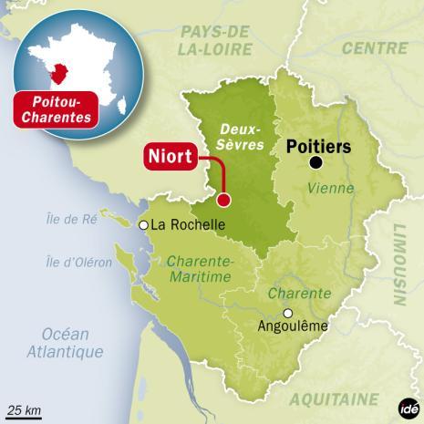 Carte De France Niort | popkensburg