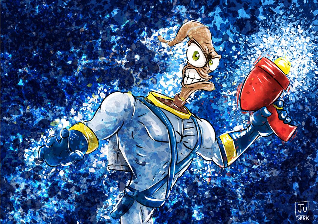 Groovy !!! Earthworm Jim : Fan Art
