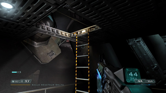 Doom 3 bug échelle
