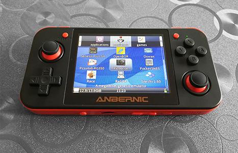 RG350 console portable emulation