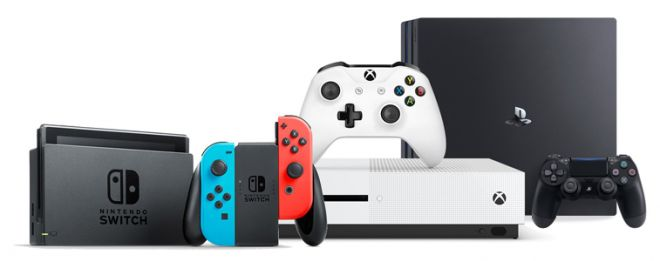 Switch PS4 Xbox One