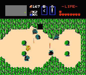 Legend Of Zelda Nes Overworld