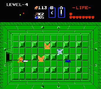 Zelda 1 Nes Donjon