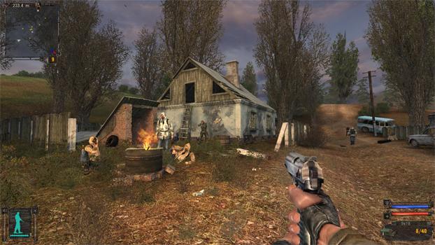 STALKER Shadow of Chernobyl gameplay