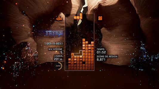 Tetris Effect Gameplay