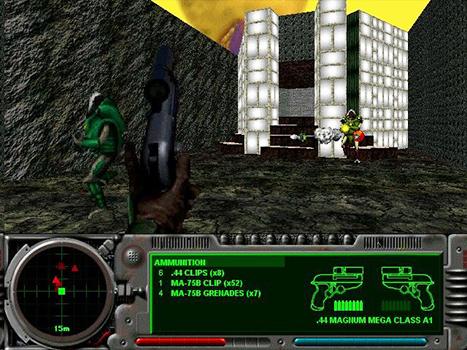 Marathon 2 Durandal gunfight