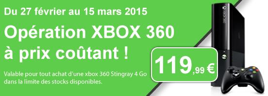 Xbox 360 pas cher