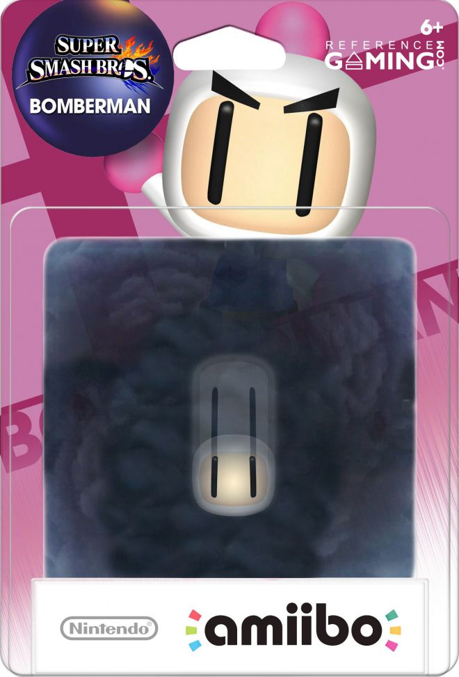 Amiibo Bomberman