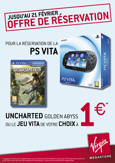 PS Vita - Virgin MEGASTORE