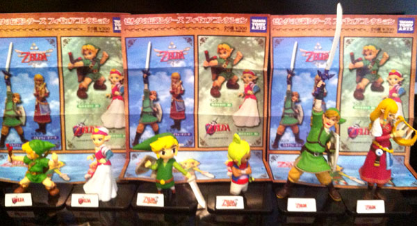 collection zelda figurines