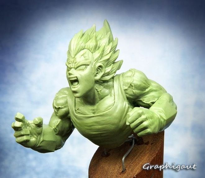 coulisse creation figurines dragon ball