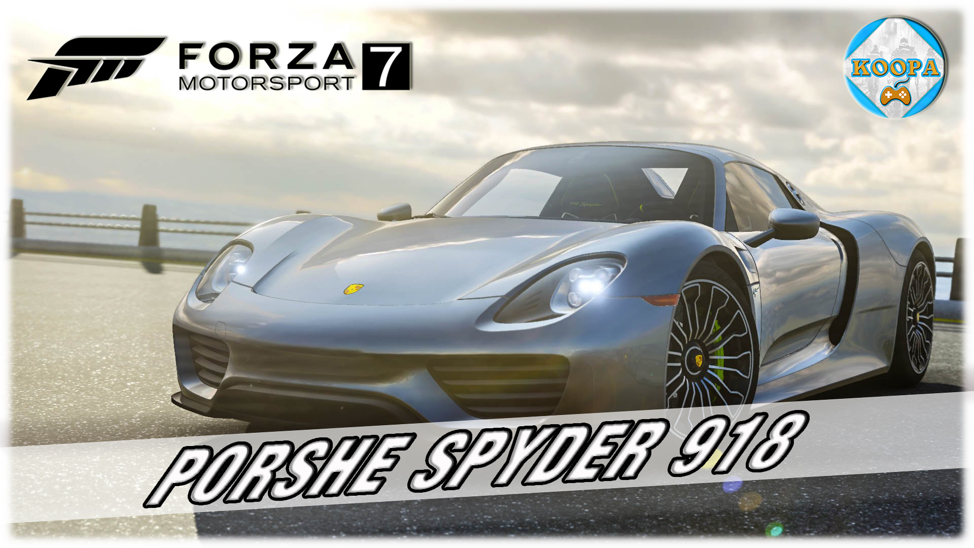 on teste la porsche spyder 918 forza motorsport 7. Black Bedroom Furniture Sets. Home Design Ideas