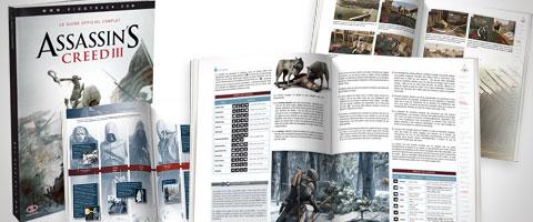 Le guide officiel d'Assassin's Creed III : chapeau bas