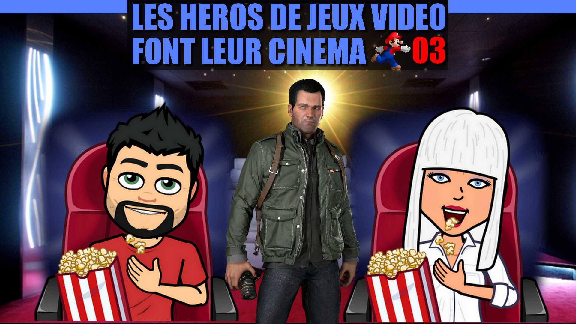 Fun et délires - Les héros de JV font leur cinéma EPISODE 03