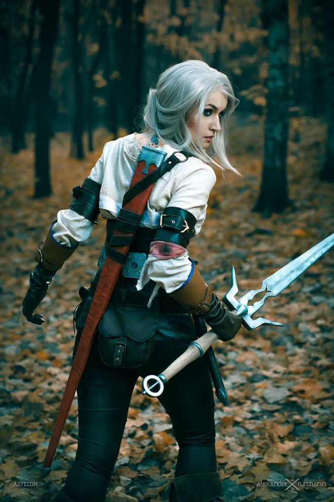 cosplay ciri the witcher 3