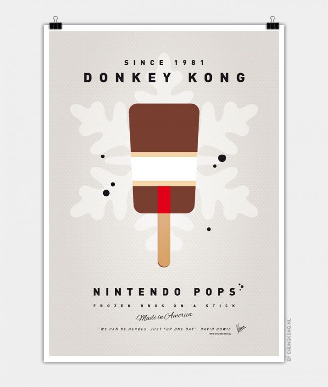 Super Mario Ice Pops Donkey Kong