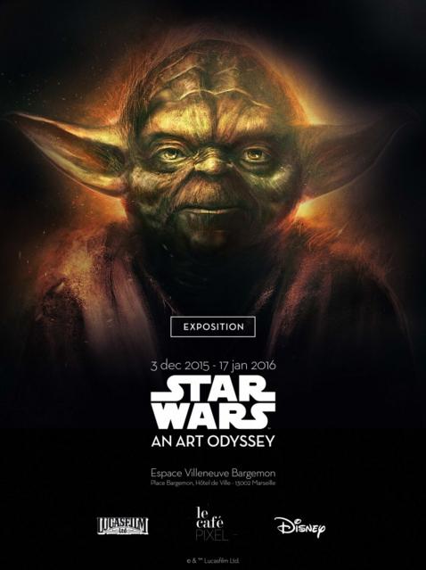 Yoda - Exposition Star Wars An Art Odyssey