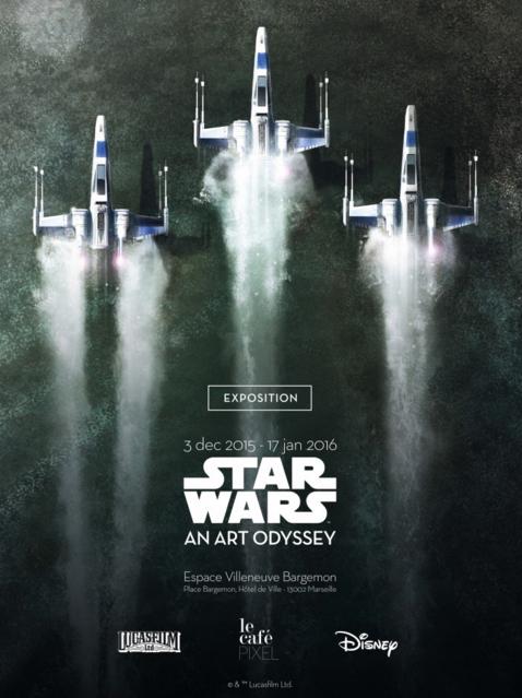 Exposition Star Wars An Art Odyssey