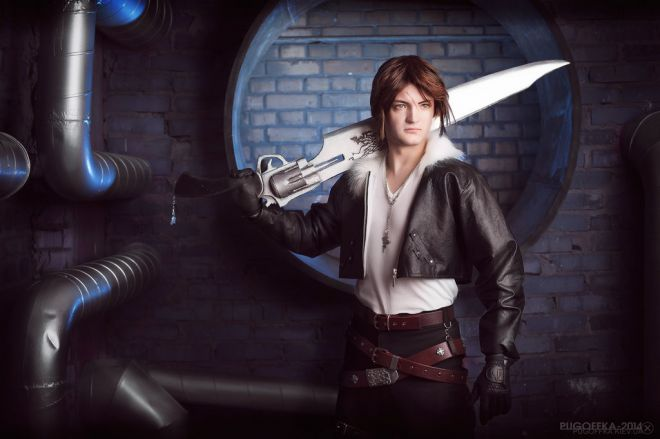 Squall FF8 Cosplay