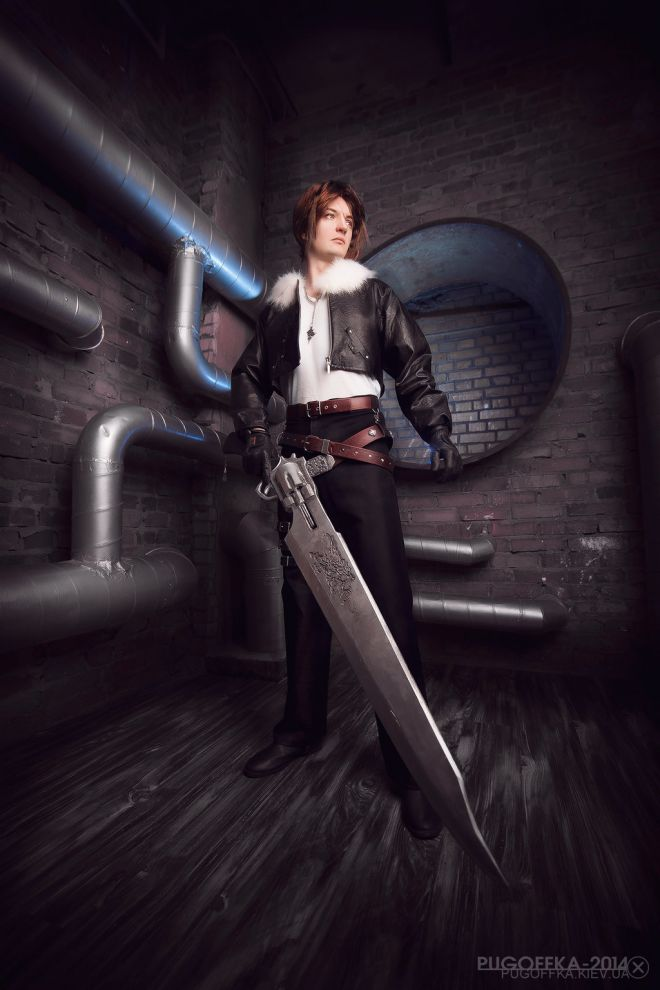 cosplay Squall FF8