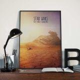 poster star wars geek minasanshop
