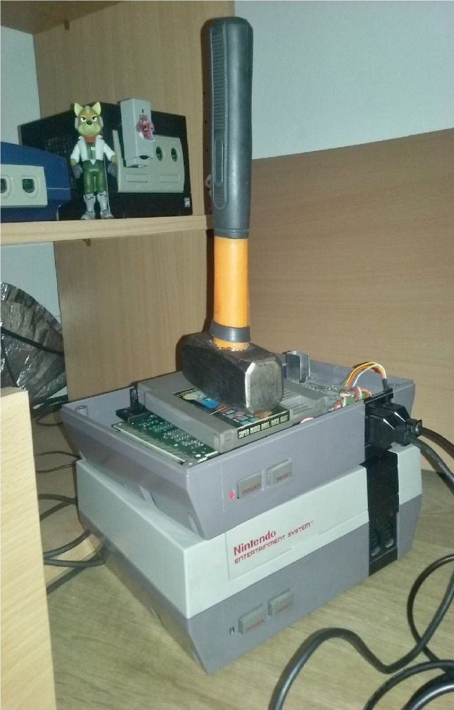 Ma vieille NES est � la masse...