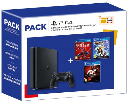 pack ps4