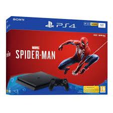 b841030161b60d PS4 Pro + 3 jeux Spiderman + Call of Duty Black Ops 4 + Shadow of The tomb  Raider   399,99€ au lieu de 529,29€