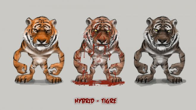 Tigres Cartoon