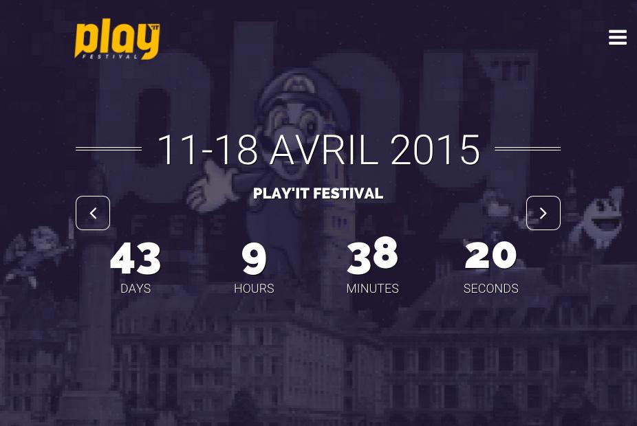 Invitation au Play'It Festival