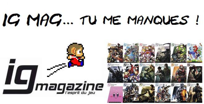 Ig Mag Tu Me Manques Le X Blog Blogs Gameblog Fr
