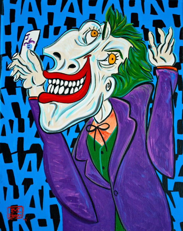 Marvel & DC version Picasso !!