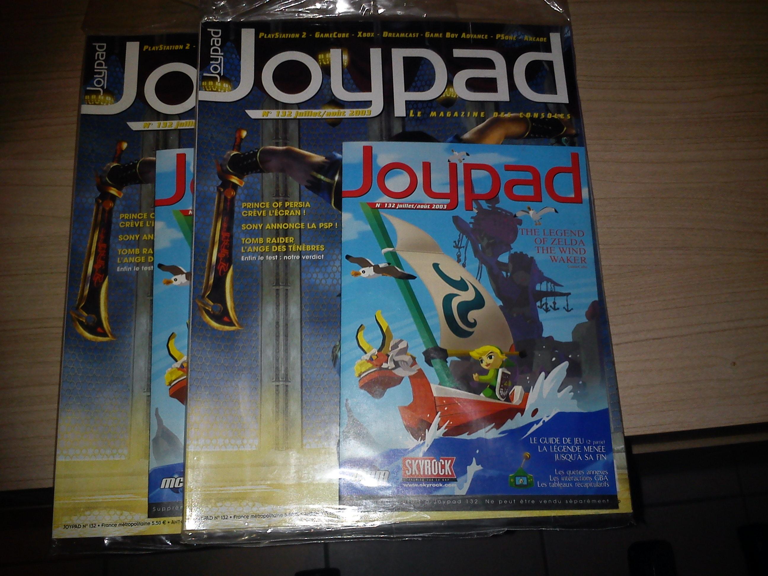 Souvenez vous : Ce n'est qu'un adieu .... Joypad