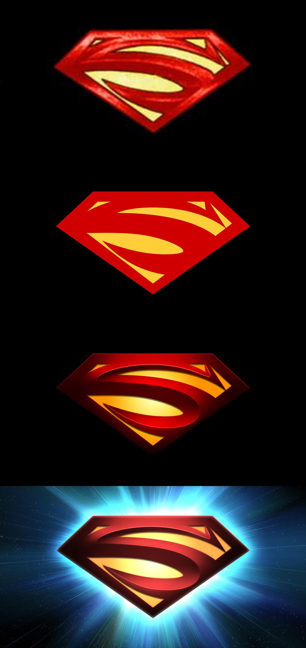 Et si on reproduisait le symbole de superman sweetwater - Symbole de superman ...